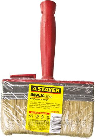 "Макловица STAYER ""MASTER"" UNIVERSAL, светлая щетина, пластмассовый корпус, 3х12см, фото 2"