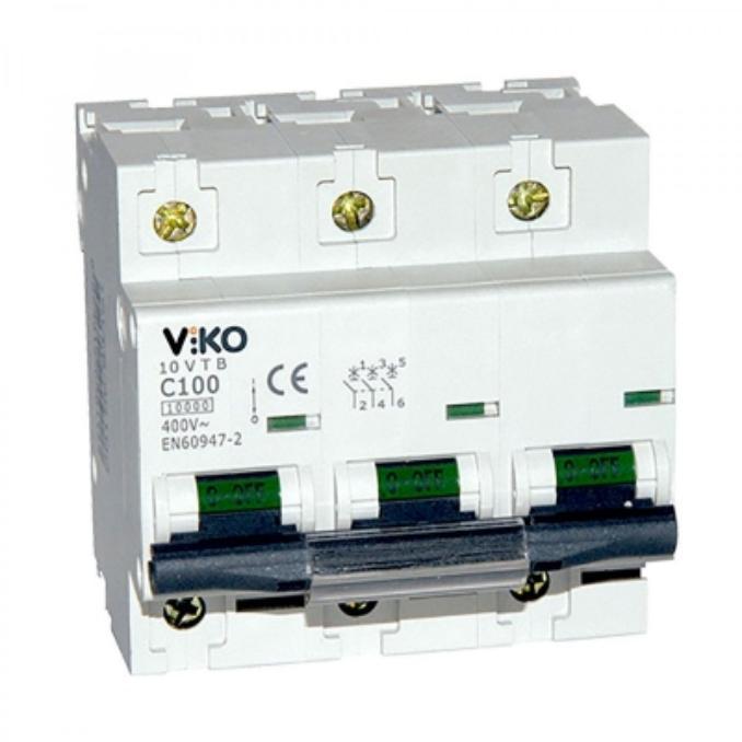 Автоматический выключатель Viko 3P 25A