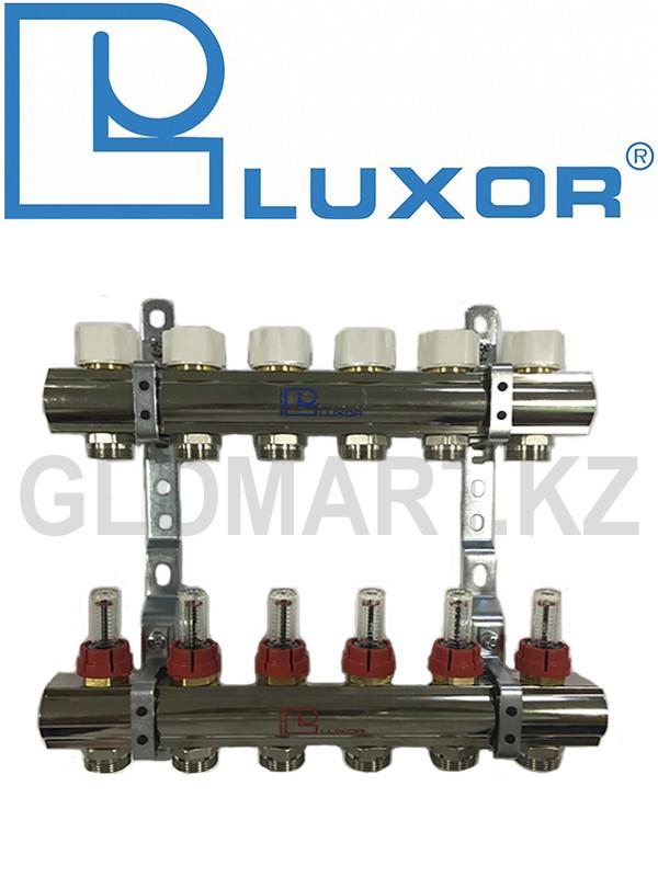 Распределитель Люксор с расходомерами 6 вых. (Luxor)
