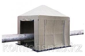 Пологи, тенты, палатки для сварщиков брезентовые на заказ