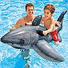Детский плотик для плавания Акула Intex 57525 173*107см