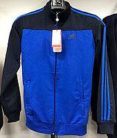 Костюм спортивный мужской Adidas синий-черный/черный