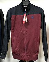 Костюм спортивный мужской Adidas бордовый-черный/черный