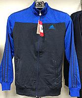 Костюм спортивный мужской Adidas черный-синий/черный