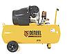 Компрессор воздушный DENZEL PC 2/100-360, 2.3 кВт, 360 л/мин, 100 л, 10 бар, 58078