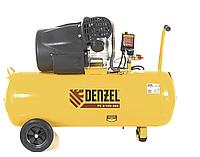 Компрессор воздушный DENZEL PC 2/100-360, 2.3 кВт, 360 л/мин, 100 л, 10 бар, 58078, фото 1