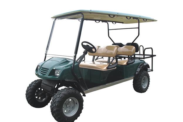 Охотничий кар 6-ти местный со складным сиденьем EG2040ASZ