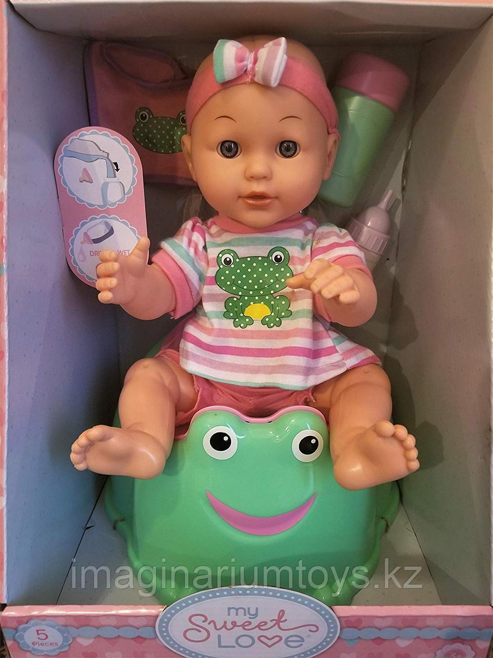 Кукла-пупс 34 см в наборе