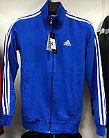 Костюм спортивный мужской Adidas синий-белый/черный