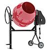 Бетоносмеситель CM 180, бетономешалка 180 литров, мощность 800 Вт, 95492