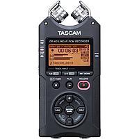Профессиональный аудио рекордер Tascam DR-40 (Version-2) + SD 4 Gb