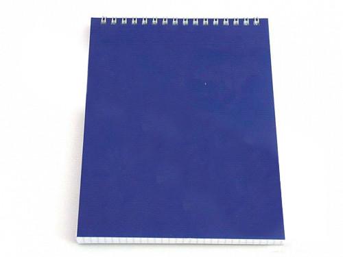 """Блокнот БИ ДЖИ """"Для конференций"""" на спирали, А5, 60 листов в клетку, синий"""