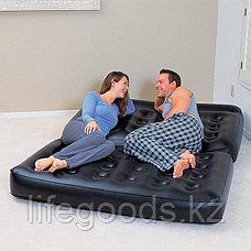 Надувной диван-трансформер 5 в 1 188х152х64 см с насосом, Bestway 75056, фото 2