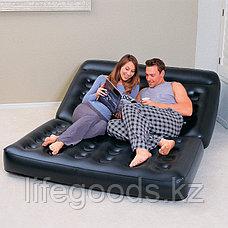 Надувной диван-трансформер 5 в 1 188х152х64 см с насосом, Bestway 75056, фото 3
