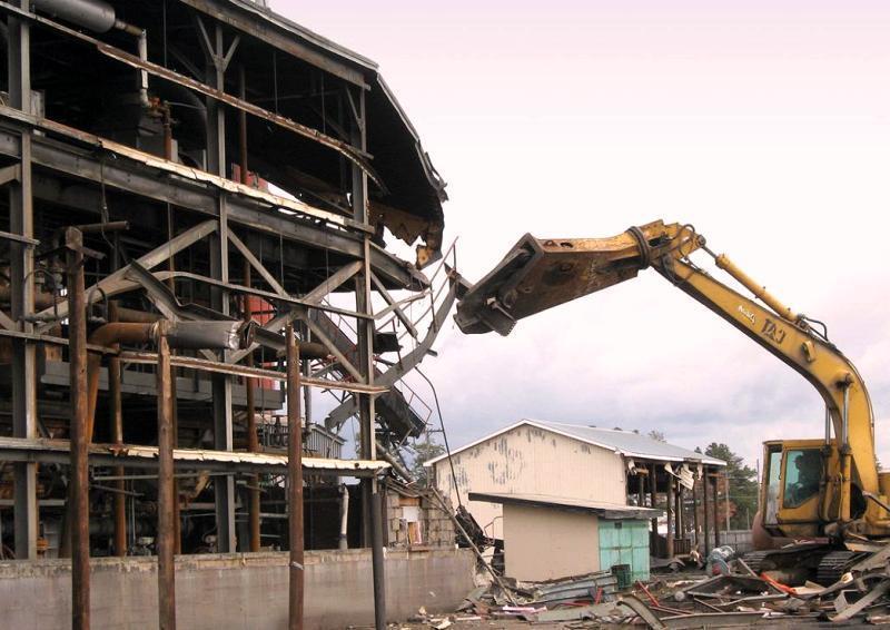 Демонтаж и реставрация металлоконструкций