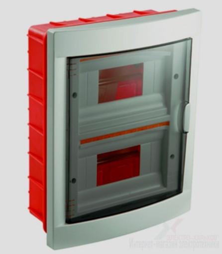 Корпус пластиковый 12 модульный IP40 в/у