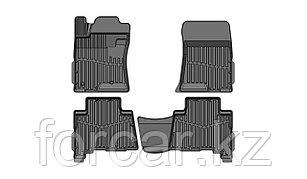 Коврики в салон глубокие Toyota Land Cruiser Prado 150 '09- (Комплект 4шт.)