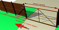 Установка автоматики для откатных ворот, фото 1