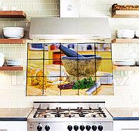 Кухонная наклейка на кафельную плитку 75х45 специи TL-228
