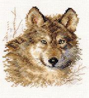 """Набор для вышивания крестом """"Волк"""""""