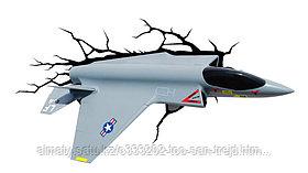 """3D Deco Light """"Военный самолет"""""""