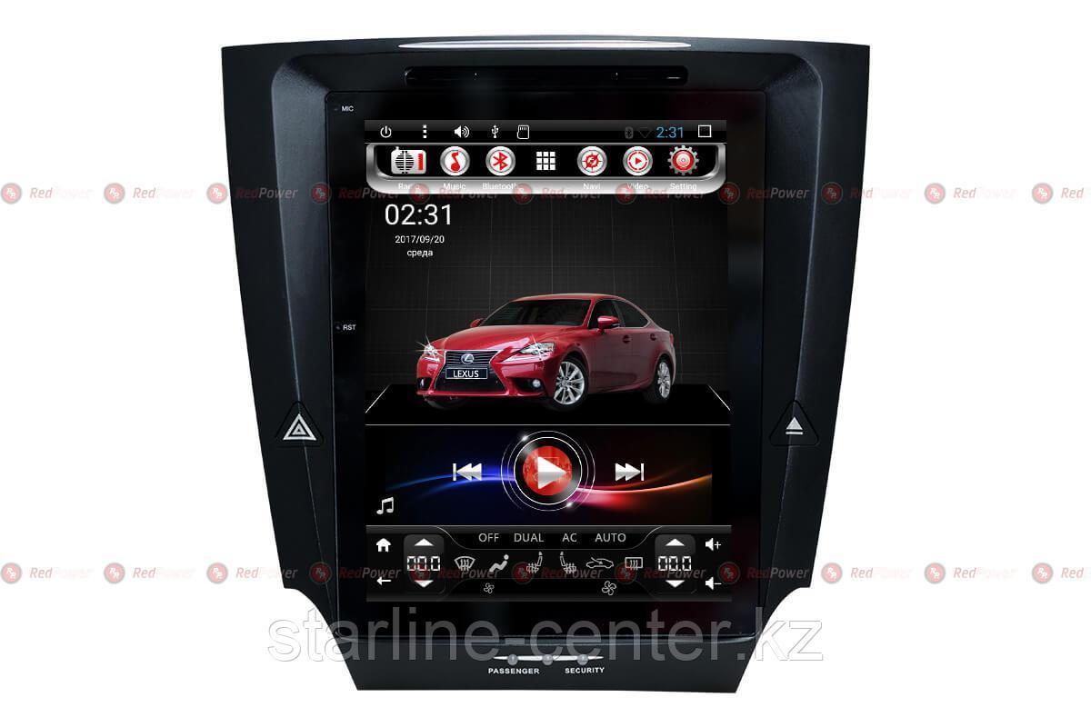 Автомагнитола для Lexus IS Redpower 31300 TESLA