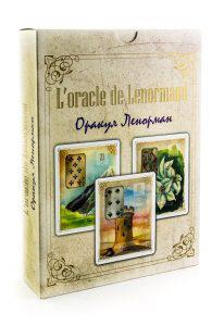 Карты Оракул Ленорман «Золотые цветы»