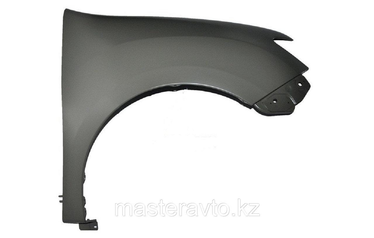 Крыло ОРИГИНАЛ переднее RH БЕЗ повторителя Renault Sandero 2014>(NEW)