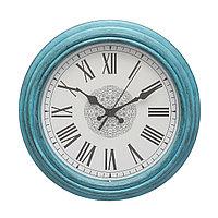 Настенные часы 30*30*4,3 см синие