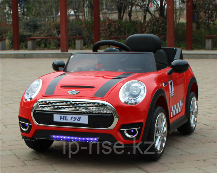 Детский электромабиль Mini Cooper
