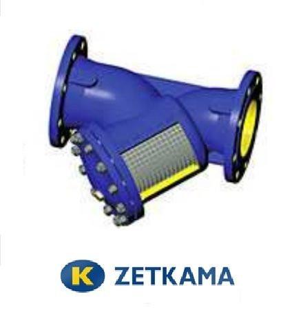 Фильтр фланцевый под сливной кран DN 15 (Zetkama, Польша)