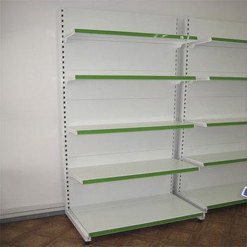 Стеллаж металлический пристенный секция 2500*500/400/300