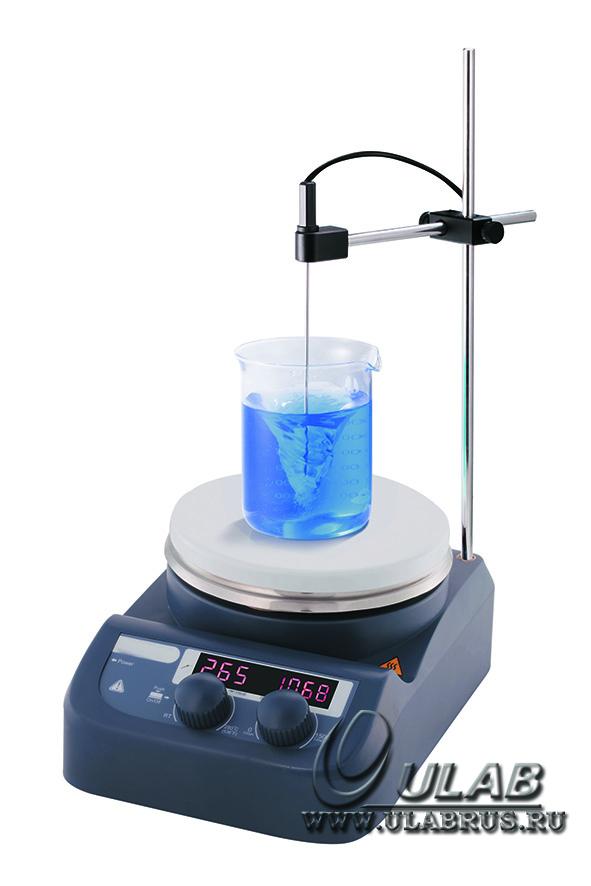 US-1500S Магнитная мешалка с подогревом