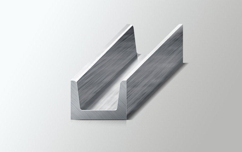 Швеллер 8 стальной горячекатаный  ГОСТ 8240-89, 11,7 метров