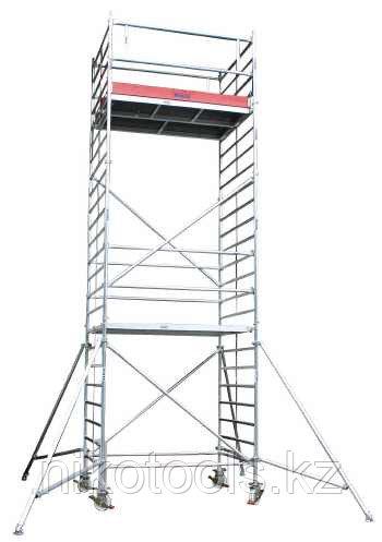 Алюминиевая вышка STABILO 5000-2 Высота рабочая =9,3м