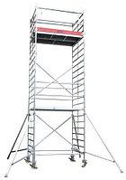 Алюминиевая вышка STABILO 5000-2 Высота рабочая =9,3м, фото 1