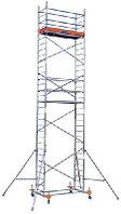 Алюминиевые передвижные леса ProTec Высота рабочая 8,3м