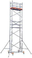 Алюминиевые передвижные леса ProTec Высота рабочая 12,3м