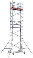 Алюминиевые передвижные леса ProTec Высота рабочая 13,3м