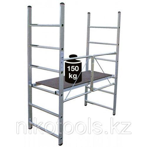 Алюминиевые складные подмости Mini Высота рабочая =3м (916198)