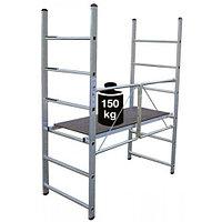 Алюминиевые складные подмости Mini Высота рабочая =3м (916198), фото 1