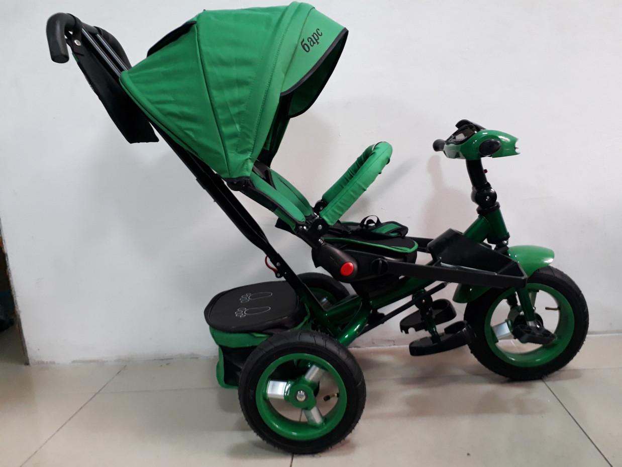 Трехколесный велосипед Барс с надувными колесами