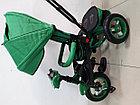 Трехколесный велосипед Барс с надувными колесами, фото 8