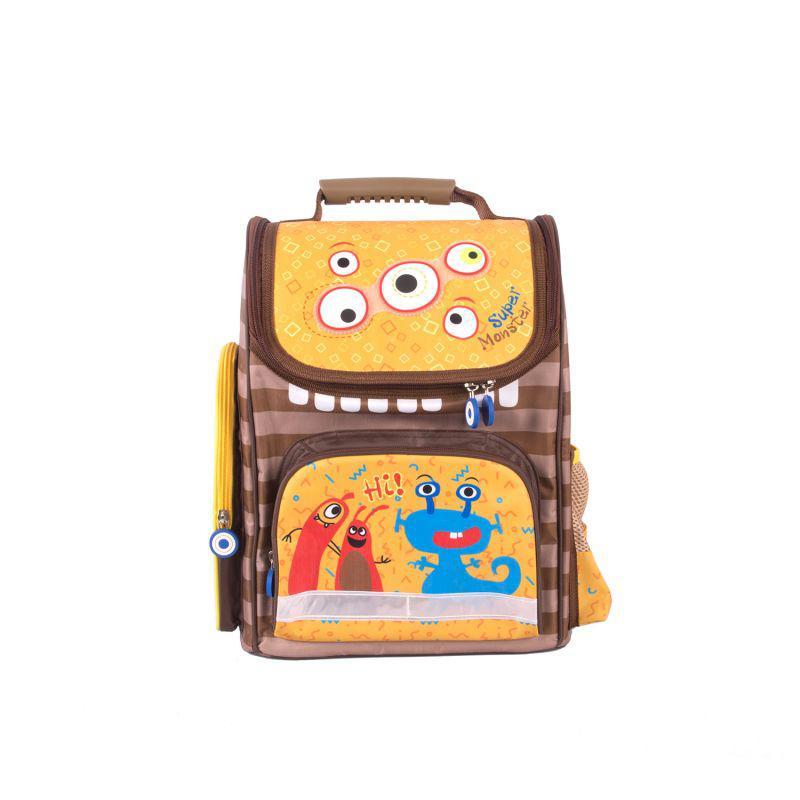 Школьный рюкзак Монстрик Васек эргономичная спинка