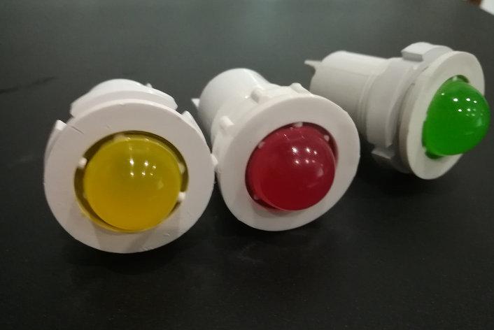 Лампа СКЛ 11А Желтая, красная, зеленая 2-220, фото 2