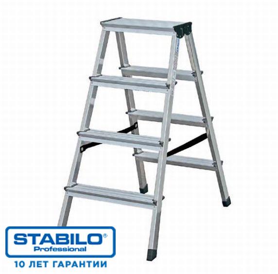 Двухсторонняя лестница-стремянка 2х8 ступ. KRAUSE STABILO