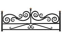 Кованная оградка №1