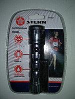 Фонарик светодиодный, алюминиевый корпус, влагозащищённый, 12 Led, STERN