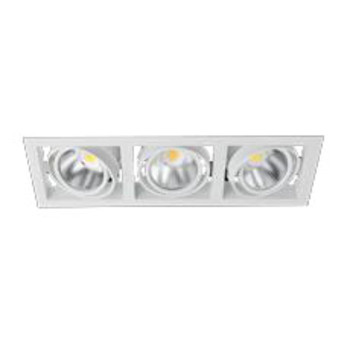 Встраиваемый LED светильник White 3*5W  IP23