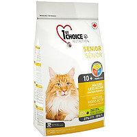 1st Choice Mature-Less Active (Фест Чойс) корм для пожилых и малоактивных кошек,  5,44 кг.